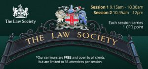 Seminar slide with logo